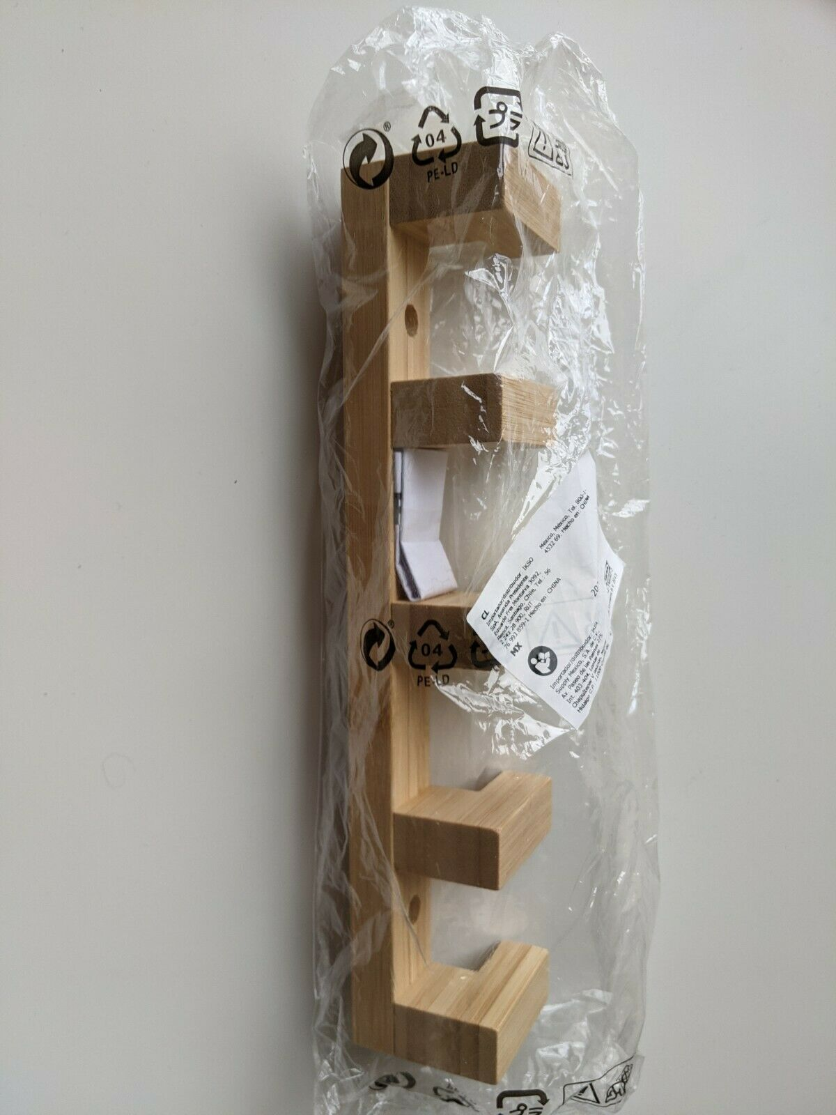 *New* HAVERN Hook rack, bamboo 28 cm 403.231.83 *Brand IKEA*