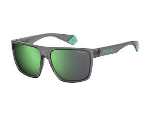 Occhiali-Sole-Polaroid-PLD-6076-S-Fedez-for-Polaroid-grigio-verde-KB7-5Z