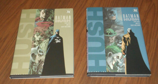 BATMAN HUSH vol. 1-2 HC originali USA DC 2003 Jeph Loeb Jim Lee Scott Williams
