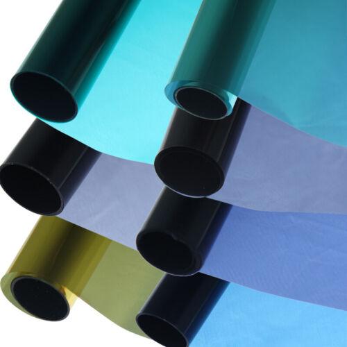 Tönungsfolie farbig 75x300cm Sonnenschutzfolie Sichtschutzfolie Autofolie