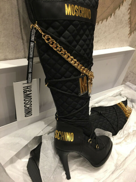 75fedd5fb0f Moschino Boots Limited Edition H&MOSCHINO Jeremy Scott