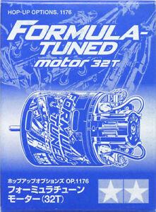 Formula-Tuned Tamiya 54176 RC Motor 32T Brushed 540
