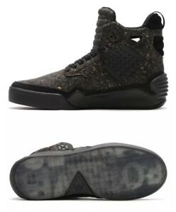 989816398ef7 Supra Skytop IV x Muska Black Cork Super Rare Men Skateboarding Shoe ...