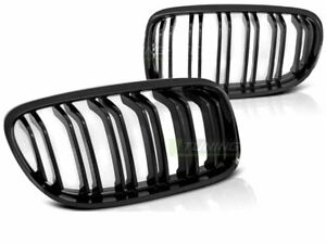 NEUF-Front-Grille-Calandre-Avant-BMW-E90-E91-LCI-09-gt-Noir-brillant-M-Look-FR-GRB