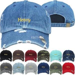 Details about Vintage Hat Hennessy Embroidery Baseball Hats Dad Caps  KBETHOS Unconstructed Cap e163ef7c998