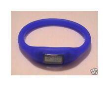 Orologio da polso gomma moda mare estate blu azzurro nuovo design ovale