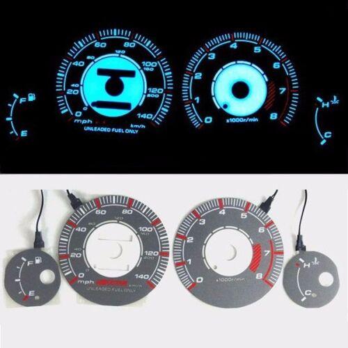 《BAR Autotech》 Indiglo Glow Gauge Dash Face EL Cluster for Nissan Maxima 95-97