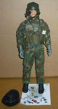 "BBI Elite Force MARSHALL U.S. Army Apache Pilot, 12"" Figure 1:6 Scale Complete"