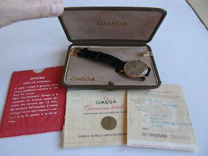 OMEGA-SEAMASTER-AUTOMATIC-1960-ORO-ROSA-18-KT-0-750-REF-14745-SC-1-CALIBRO-552