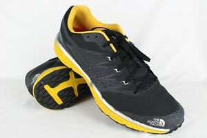 3376f6179 Details about New The North Face Men's Litewave TR Trail Running Shoes Size  11.5 Black/Yellow