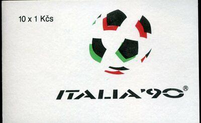424527 Fußball-wm Italien Reisen 3049 ** Tschechoslowakei Mh Mit Nr