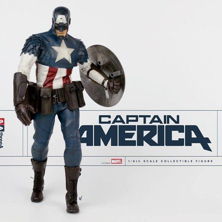 ThreeA Ashley Wood Captain America 1 6 Scale figure TZ-178540J