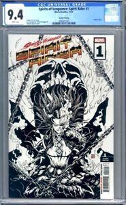 Spirits of Vengeance: Spirit Rider #1 Echo Okazaki Sketch 2nd Print CGC 9.4