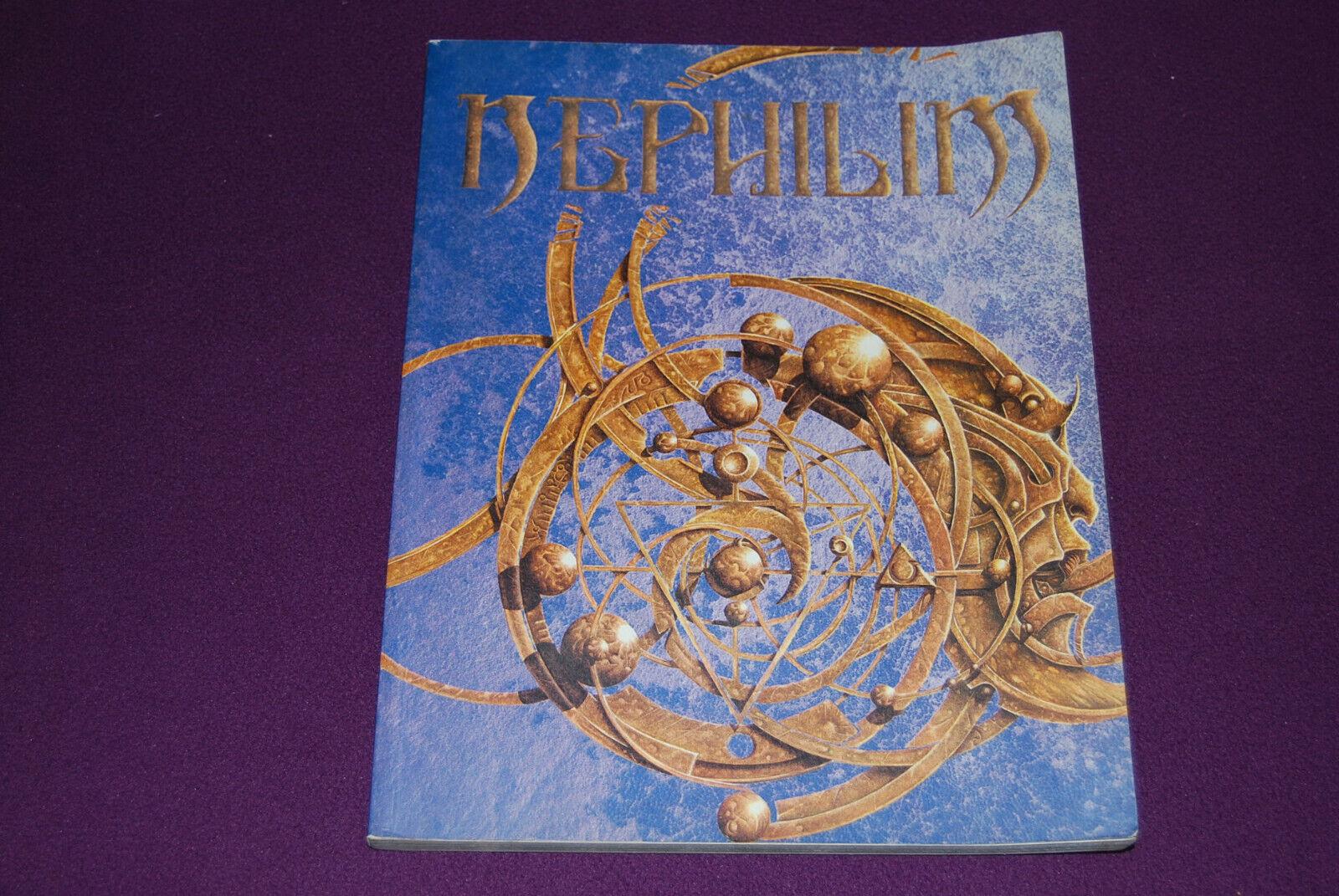 NEPHILIM V1 - JDR Jeu de Role de l'Occulte Contemporain - Livre de Base 1ère Ed.