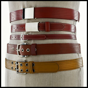 ELVIS-amp-KRESSE-UK-Fire-Hose-Hand-Made-Unisex-Belt-Several-Sizes-amp-Colours-BNIB