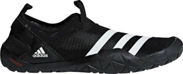 online retailer 31c1d e41a9 adidas Climacool Jawpaw Slip On Water Shoes (Men's) - Black / White / Silver