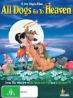 All Dogs Go to Heaven DVD Postage Within Australia Region 4