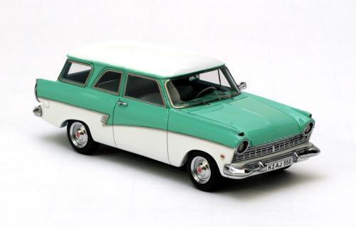 NEO MODELS Ford P2 Kombi 1957-1960 (turqoise) 1 43 44550 1 43 1 43