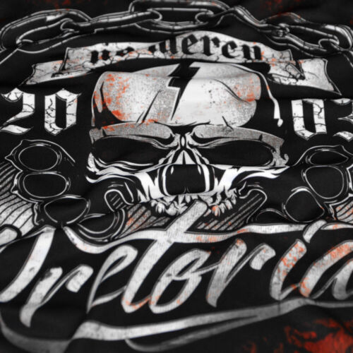 PRETORIAN Rash Guard MMA Hooligans Rashguard Compression Longleeve No Mercy