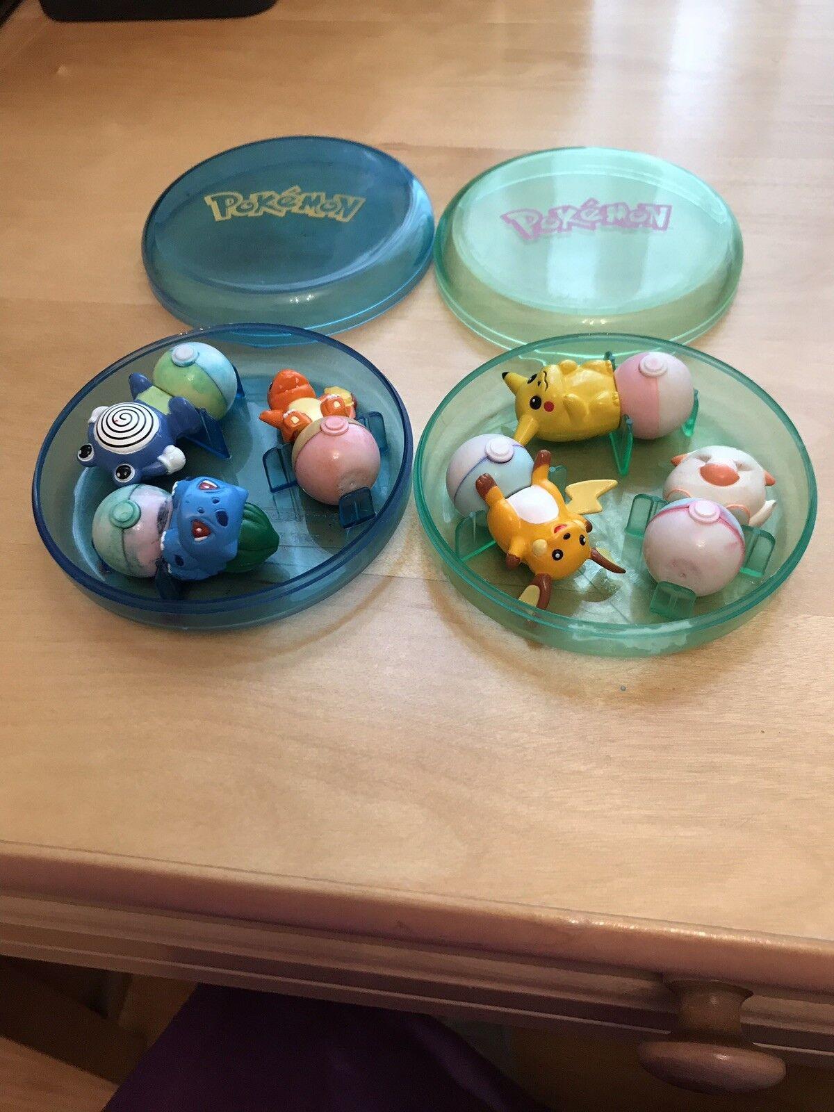 Oldtimer - menge pokemon pikachu, wenn 2 kisten  boltasar, poliwhirl, etc...