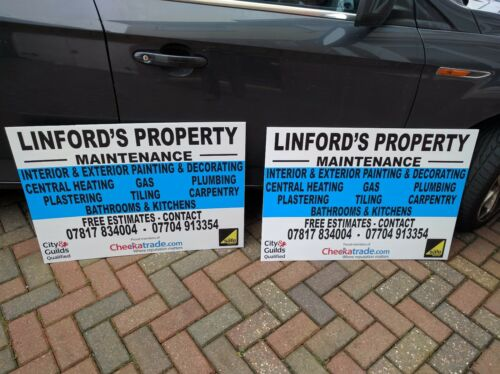 Everything Must Go v2 Full Colour Sign Printed Heavy Duty 4010