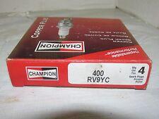 4 Pack of Champion Copper Spark Plugs RV9YC NOS LQQK!