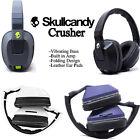 Skullcandy Crusher Stereo Headset Supreme Sound with Amp Bass Black White