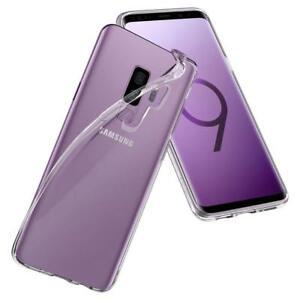 Samsung-Galaxy-S9-Plus-Protection-Huelle-Silikon-Case-Transparent-Durchsichtig