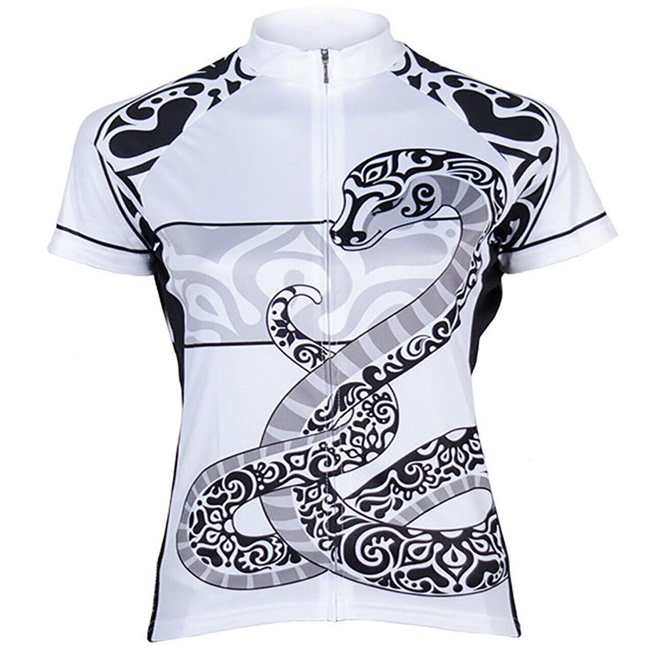 Primal Wear Doyenne Snake Charmer Women's Full Zip Cycling Jersey