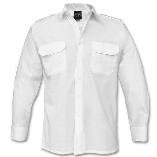 MIL-TEC BW Diensthemd US Hemd 3-Farben Langarm NEU S-XXL