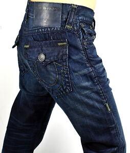 24844b63f True Religion  329 Men s Ricky Relaxed Straight Super T Jeans ...