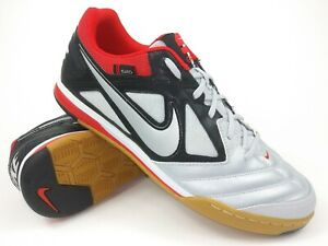 33125188a Nike Mens Rare Nike5 Gato IC Indoor Soccer Shoes 415122-006 Grey US ...