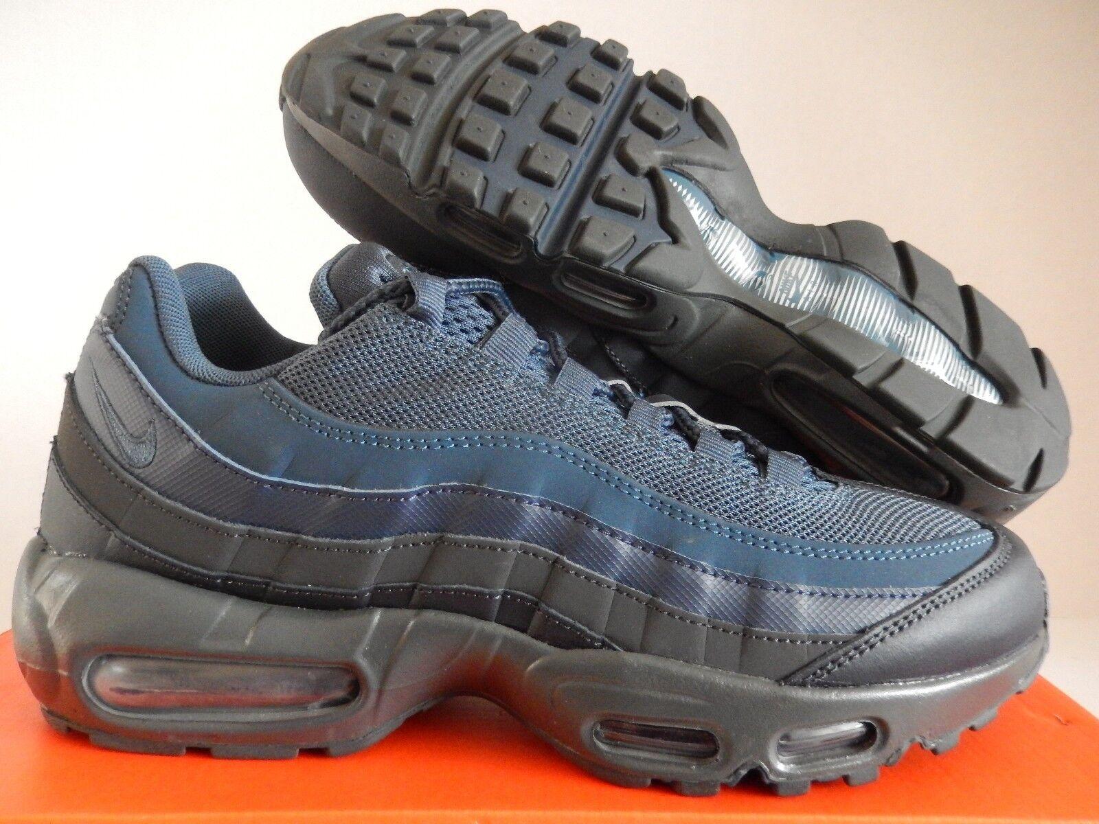 Nike air max 95 9 marine Blau-schwarz-dark grauen sz 9 95 [749766-400] e032f7