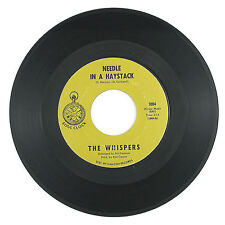 WHISPERS Needle In A Haystack/Seems Like I (1970) NORTHERN SOUL VG++ LISTEN!!!!!