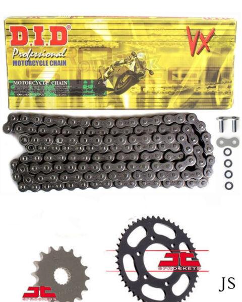 100% Kwaliteit Ducati 749 04-05 Did Vx X-ring Chain & Sprocket Kit Om Een Hoge Bewondering Te Winnen En Is Op Grote Schaal Vertrouwd Thuis En In Het Buitenland.