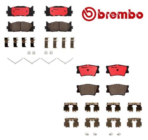 Brembo Front /& Rear Brake Pads Ceramic Kit for Toyota Camry Avalon Lexus ES350
