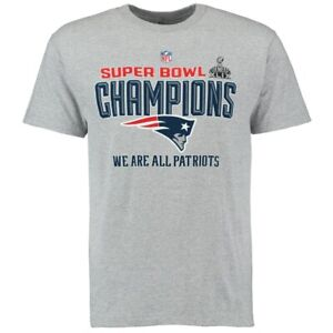 New-England-Patriots-Super-Bowl-XLIX-Champions-Youth-t-shirt-new-with-stickers
