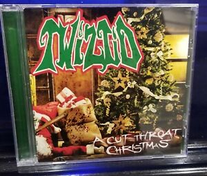 Twiztid-A-Cut-Throat-Christmas-CD-rare-insane-clown-posse-psychopathic-rydas