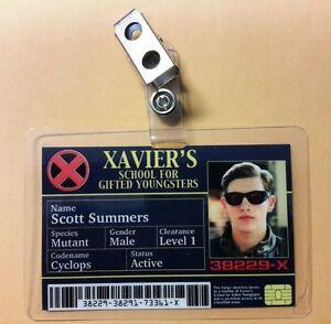 X-men-ID-Badge-Xavier-039-s-School-Scott-Summers-Cyclops-cosplay-prop-costume