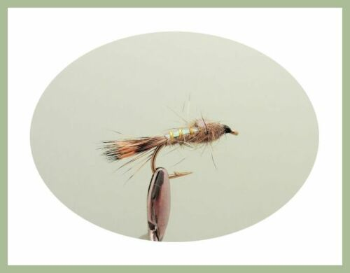 pack de 50 Mixed Dry Mouches Trout Fishing Flies Buzzers emergers SF3Y NYMPHES