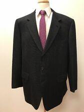 $6,798 BRIONI ITALY Men's Black Pattern Wool BIG & TALL Luxury Suit 48L 42x30
