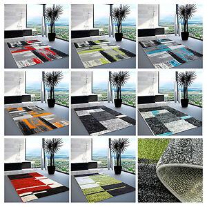 Teppich Modern Designer Wohnzimmer Shake Farbverlauf Rechteck Ebene ...