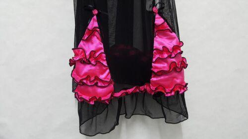 Livia Corsetti Lingerie Babydoll Set Chemise Size S-XL Women Nightwear Basque