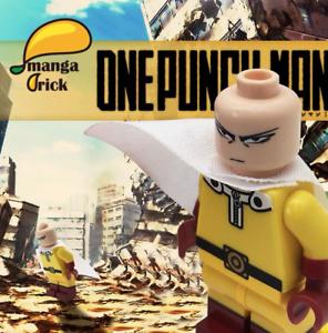 **NEW** MANGA BRICK Custom One Punch Man Lego Minifigure