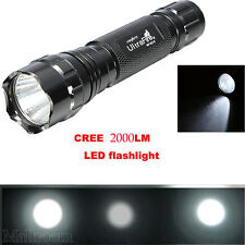 2000LM Taschenlampen CREE XM-L 501B T6 LED LED High Power Zoom Licht Lampe Torch