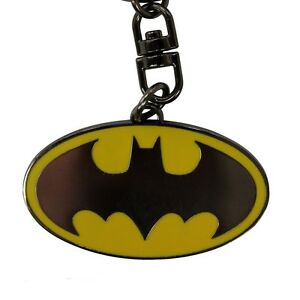 Porte Clé Batman The Dark Knight DC Comic Batarang Tranchant Emblème Logo Métal
