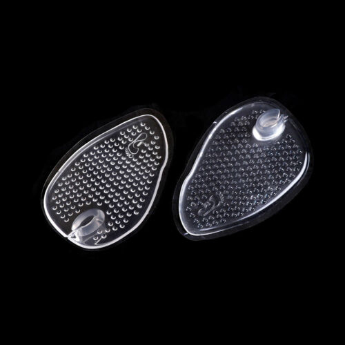 1 Pair Silicone Gel Flip-flop Sandal Inserts Cushion Foot Care Insoles Pad ^D