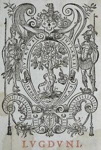 LYON-MARQUE-TYPOGRAPHIQUE-Printer-039-s-Mark-Arbre-de-la-Vertu-CLAUDE-LANDRY-1632
