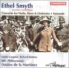 Ethel Smyth: Concerto for Violin, Horn & Orchestra; Serenade (CD, Apr-1996, Chandos)