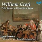 William Croft: Violin Sonatas and Harpsichord Suites (CD, Nov-2011, CRD Records)